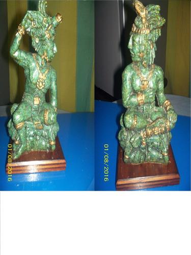 figura indio nativo americano resina valor par 25 cm loligo