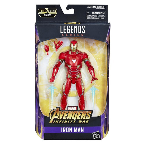 figura iron man 6 pulgadas avengers marvel