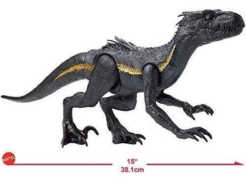 figura jurassic world indoraptor 12 pulg mattel ref fny45