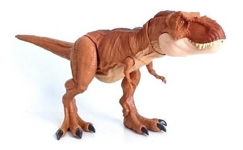 figura jurassic world t-rex fb ftt21 tyrannosaurus rex