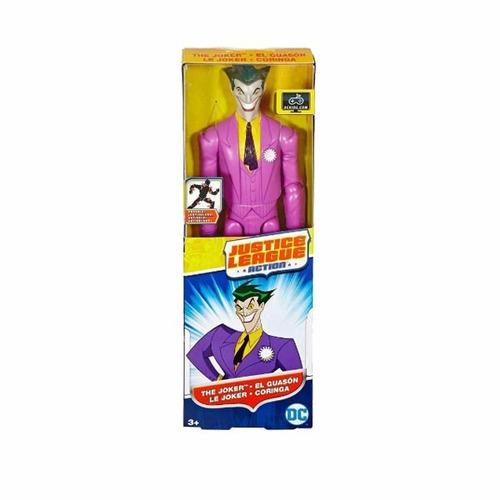 figura justice league action - guasón 30 cm - mattel