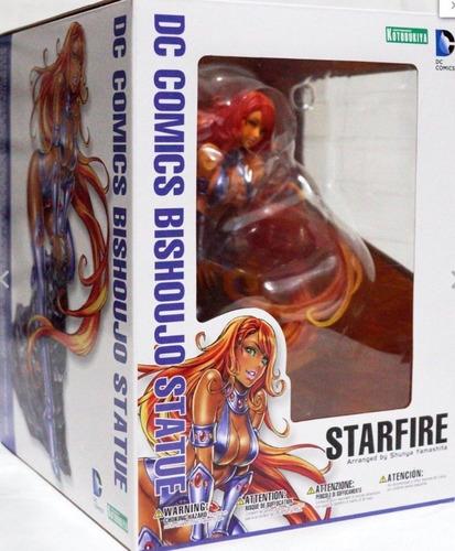 figura kotobukiya dc comics starfire bishoujo vellstore