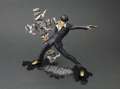 figura kotobukiya trigun badlands rumble nicholas d wolfwood