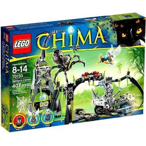 figura lego chima spinlyns cavern 70133