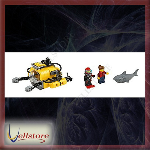 figura lego city deep sea explorers 60093 helicopter kit