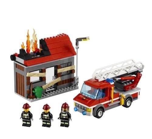 figura lego city fire emergency 60003