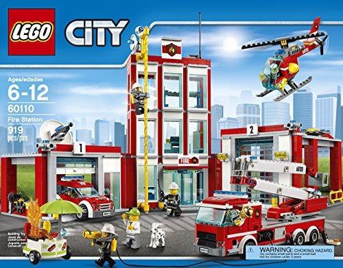 figura lego city fire station 60110