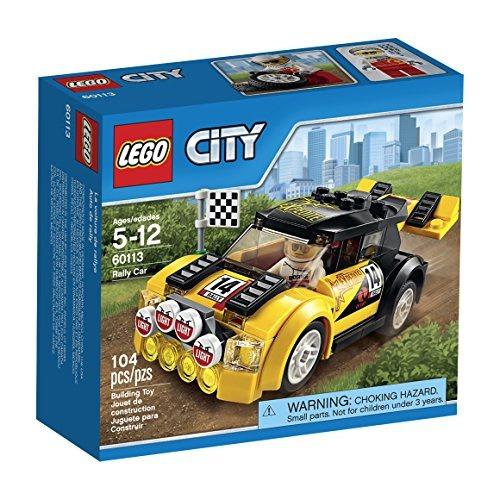 figura lego city rally car 60113