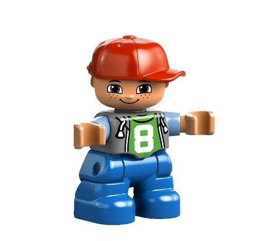 figura lego duplo my first number train building set 10558