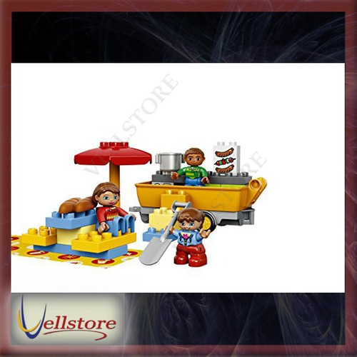 figura lego duplo town 10602 camping adventure building kit