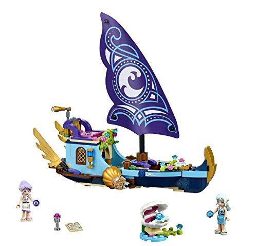 figura lego elves naidas epic adventure ship 41073