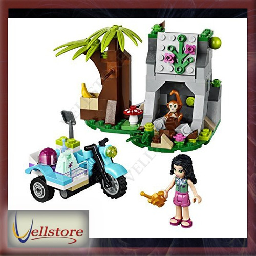 figura lego friends first aid jungle bike 41032 building set