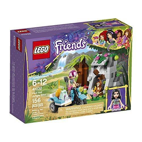 figura lego friends first aid jungle bike 41032 building set