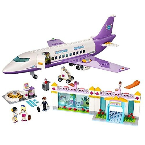 figura lego friends heartlake airport 41109