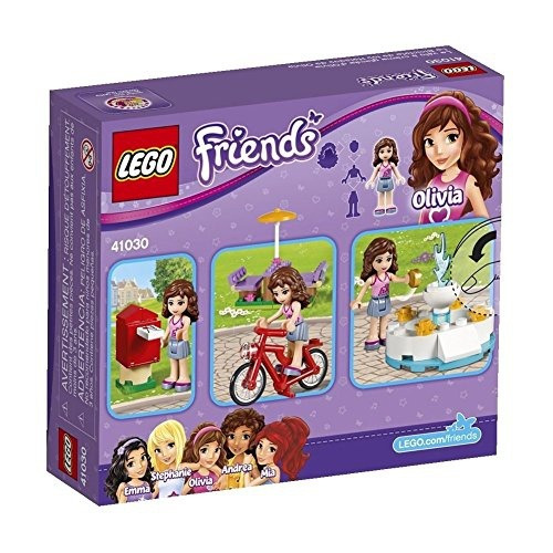 figura lego friends olivias ice cream bike 41030 set