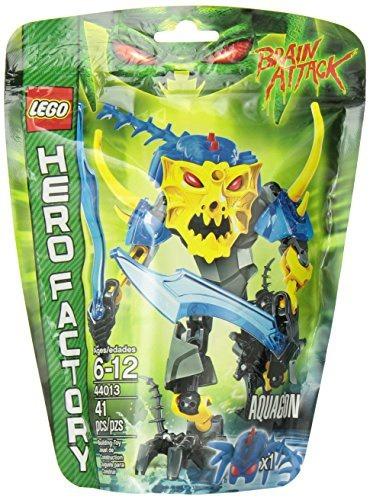 figura lego hero factory aquagon action figure playset