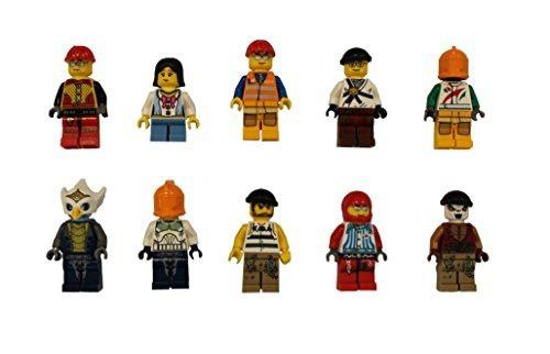 figura lego lot of 10 minifigures random of people girl