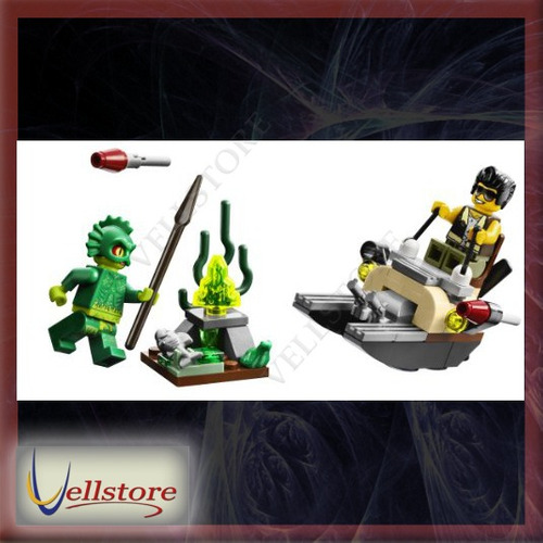 figura lego monster fighters 9461 the swamp creature