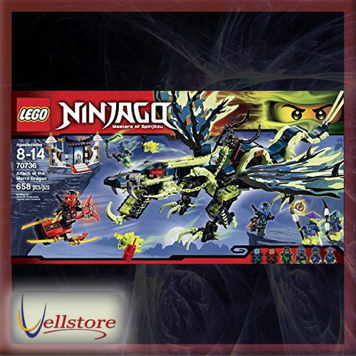 figura lego ninjago 70736 attack of the morro dragon kit