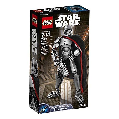 figura lego star wars captain phasma 6136867