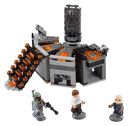 figura lego star wars carbonfreezing chamber 75137