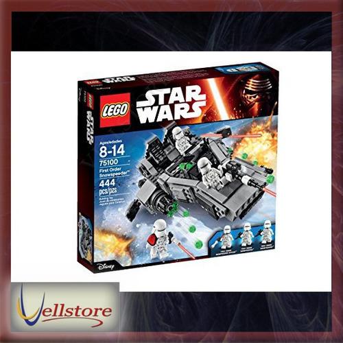 figura lego star wars first order snowspeeder 75100 kit
