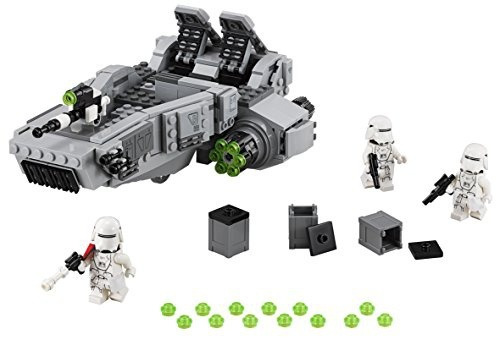 figura lego star wars first order snowspeeder 75100 kit