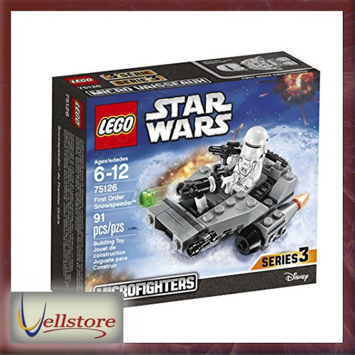 figura lego star wars first order snowspeeder 75126