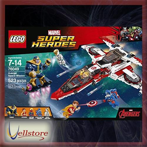 figura lego super heroes avenjet space mission 76049