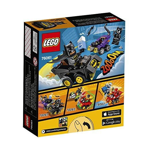 figura lego super heroes mighty micros baan catwoman 76061