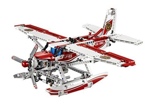 figura lego technic 42040 fire plane building kit