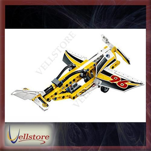 figura lego technic display team jet 42044 building kit