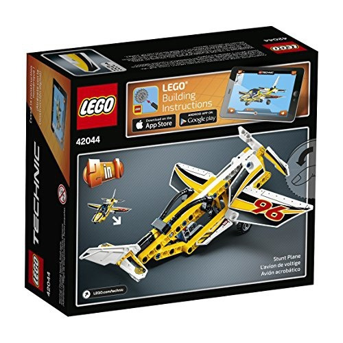 figura lego technic display team jet 42044 building kit