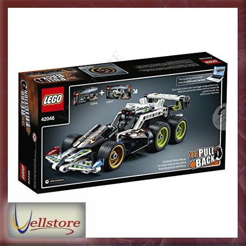 figura lego technic getaway racer 42046 building kit
