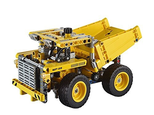 figura lego technic mining truck