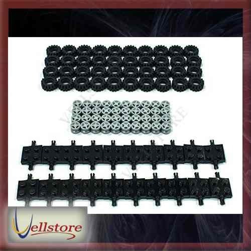 figura lego tire wheel and square axles bulk lot 100 piezas