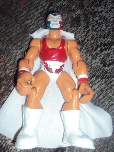 figura luchador mexicano dr. wagner en muñeco patones