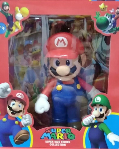 figura mario bros 20 cm colleccionable nintendo muñeco jugue