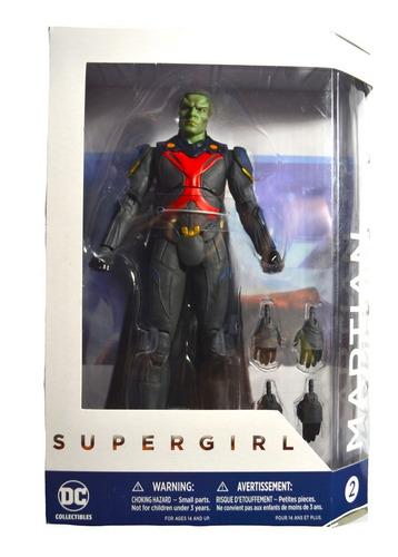 figura martian manhunter supergirl tv series dc collectibles