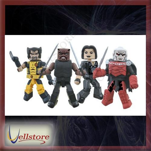 figura marvel select minimates curse of the mutants box