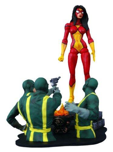 figura marvel select toys spiderwoman