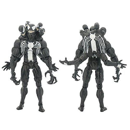 figura marvel select venom 8 spiderman villian deluxe comic