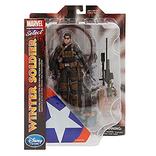 figura marvel select winter soldier 7 12 special collector