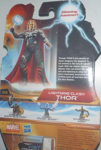 figura marvel thor avenger lightning clash hasbro 2011