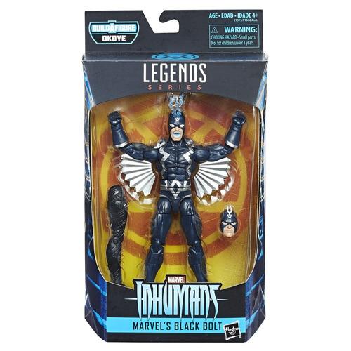 figura marvel's black bolt 6 pulgadas black panther marvel