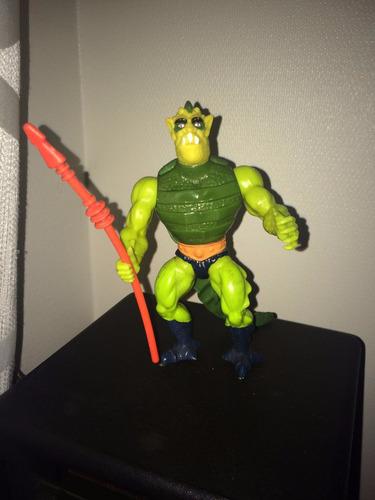 figura mattel motu he-man whiplash completo heman