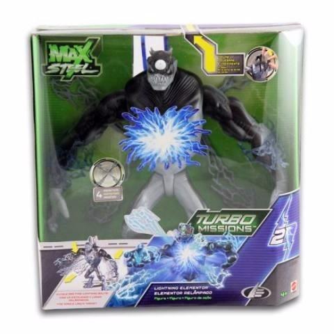 figura max steel turbo mission relampago jugueteria aplausos