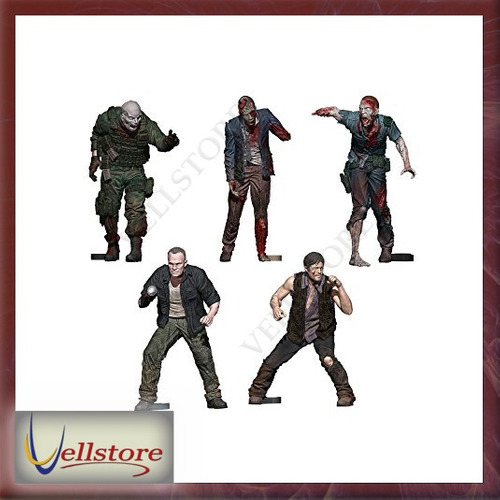 figura mcfarlane construction sets the walking dead tv