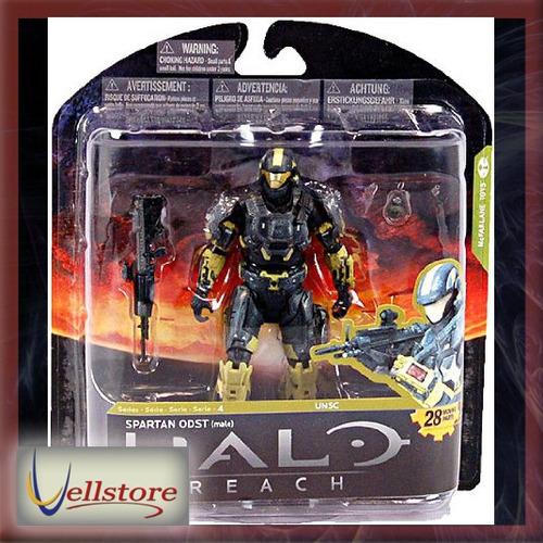 figura mcfarlane halo reach steel pale spartan odst