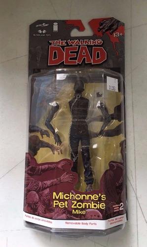 figura mcfarlane the walking dead series 2 michonne's pet